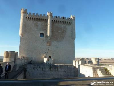 Ribera del Duero,visita enológica-Peñafiel; senderismo madrid gratis agencias de senderismo madrid